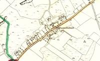 Old Map of Two Mile Ditch